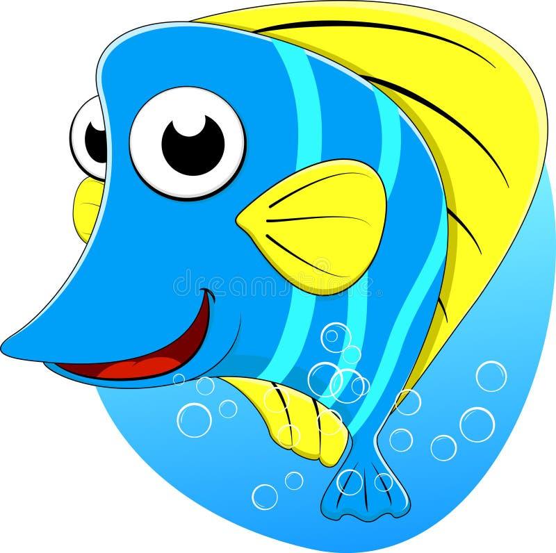 Peixes bonitos da borboleta de Tripical ilustração stock