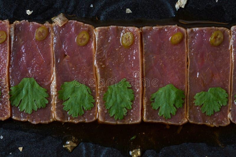 Peixes Carpaccio fotos de stock