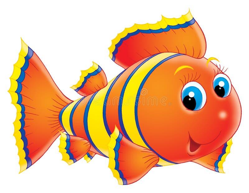 Peixes corais ilustração royalty free