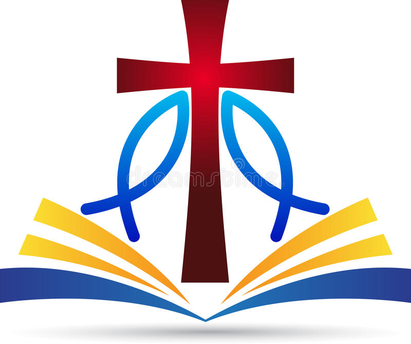 Peixes da Bíblia da cruz de Jesus