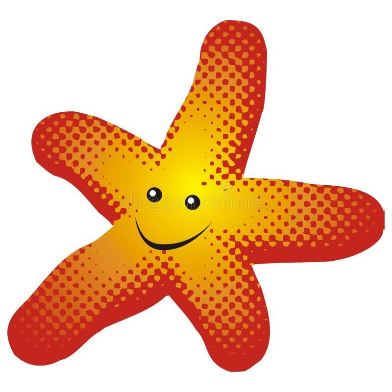 Peixes da estrela ilustração stock