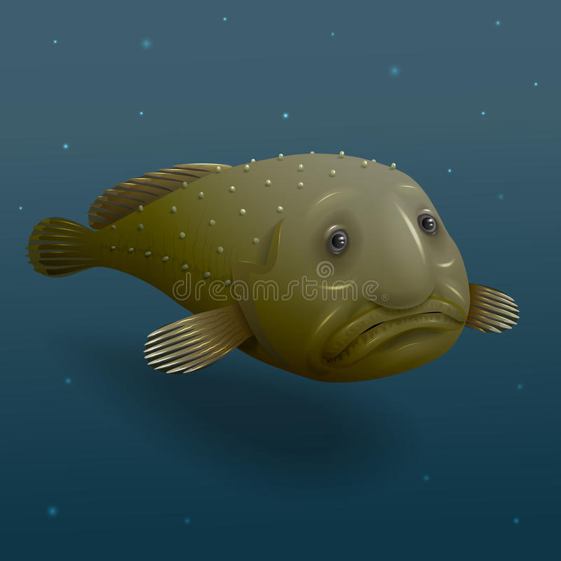 Peixes da gota ilustração do vetor