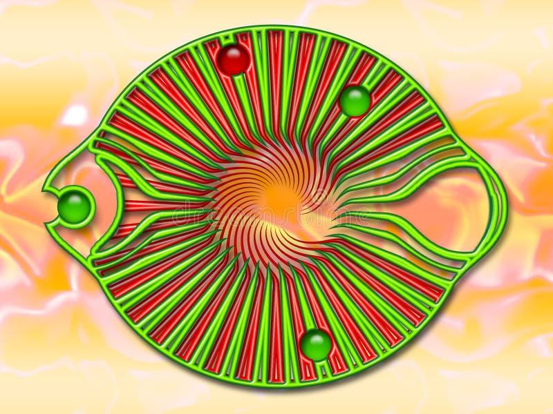 Peixes da jóia ilustração do vetor