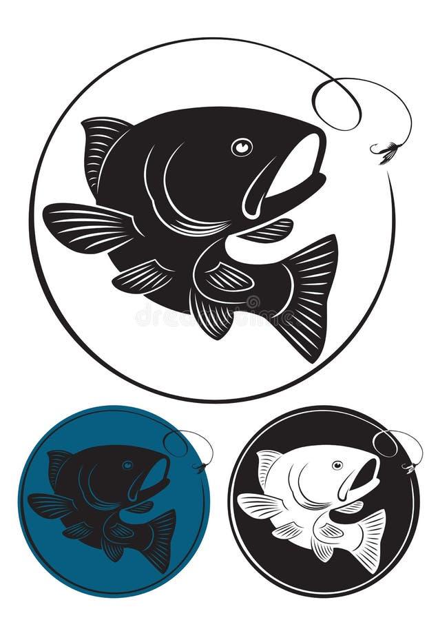 Peixes da truta ilustração stock