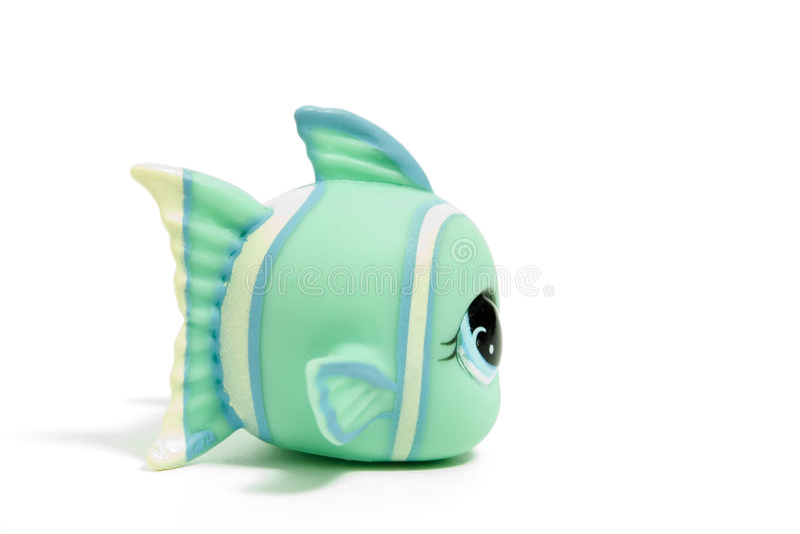 Peixes do brinquedo imagens de stock