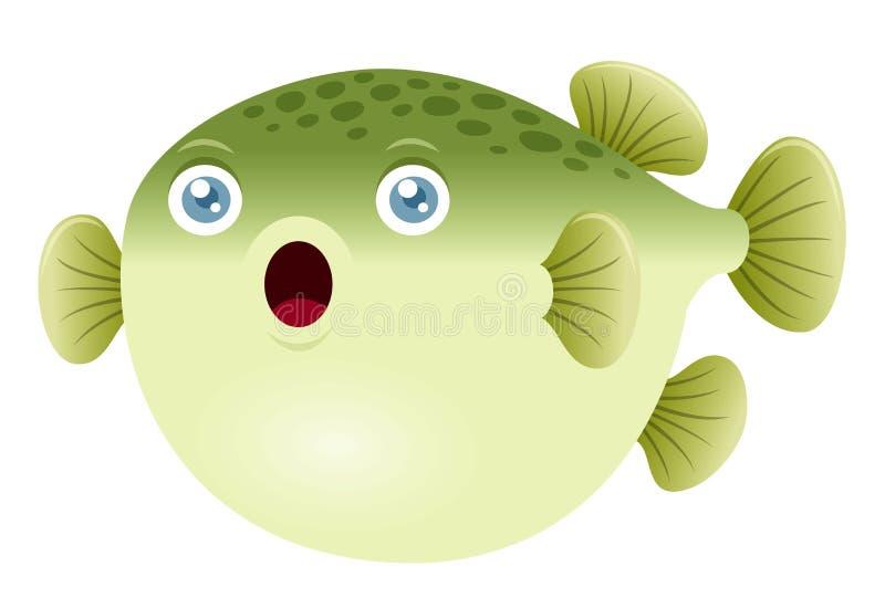 Peixes do soprador ilustração stock