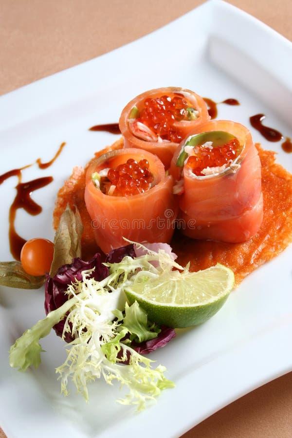 Peixes do vermelho do caviar imagem de stock royalty free