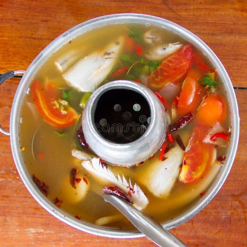 Peixes do yum de Tom foto de stock