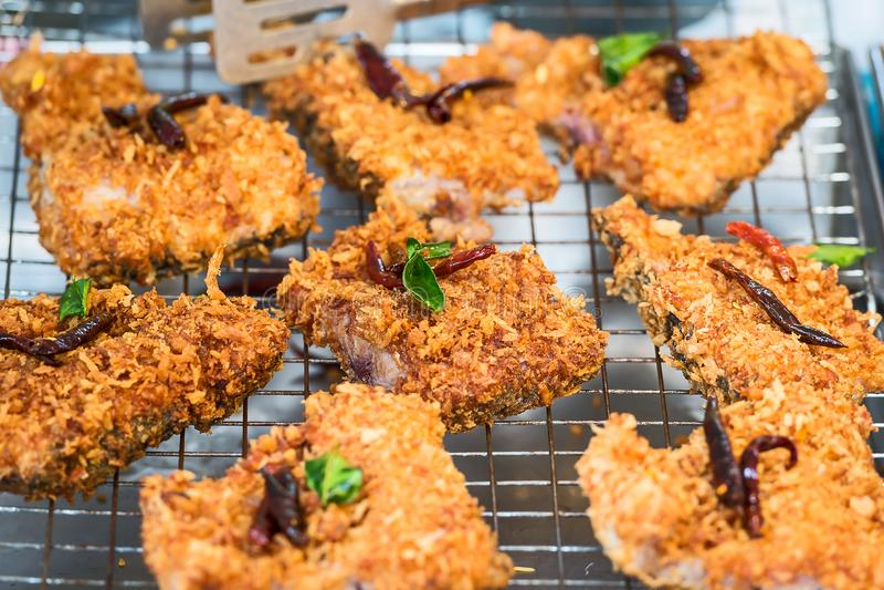 Peixes fritados picantes fotos de stock