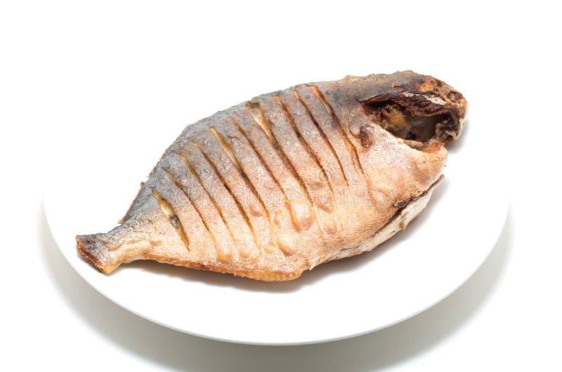 Peixes fritados vietnamita imagens de stock
