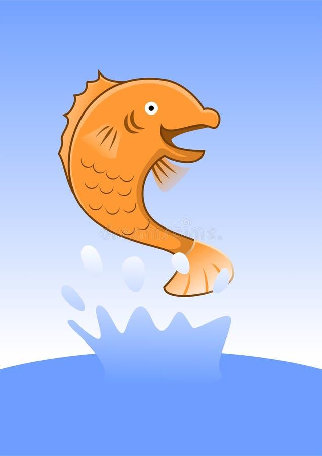 Peixes grandes ilustração royalty free