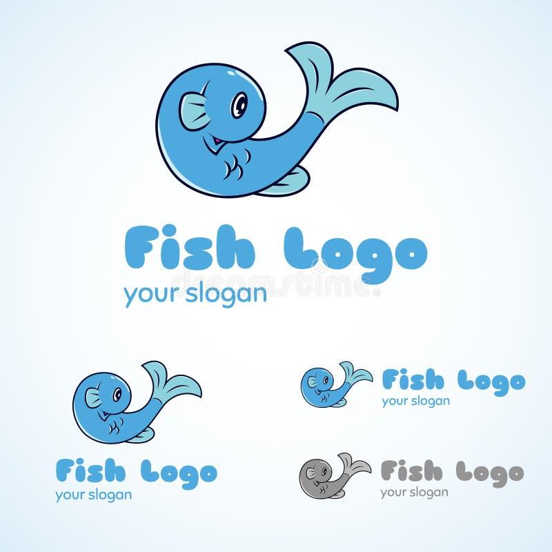 Peixes Logo Template fotos de stock royalty free