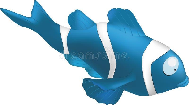 Peixes pequenos tropicais ilustração royalty free