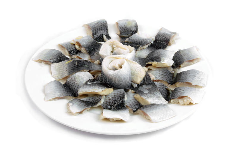 Peixes pstos de conserva imagem de stock