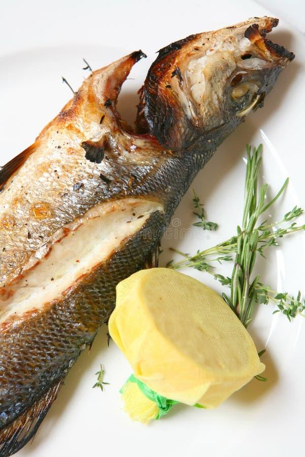Peixes Roasted imagem de stock