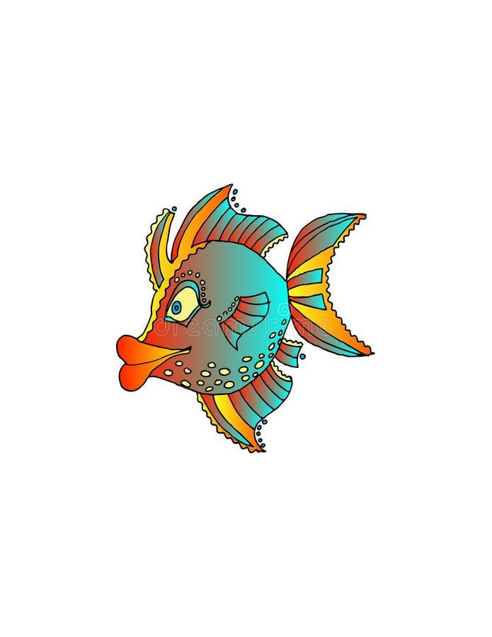 Download Peixes tropicais ilustração stock. Ilustração de barco - 527482