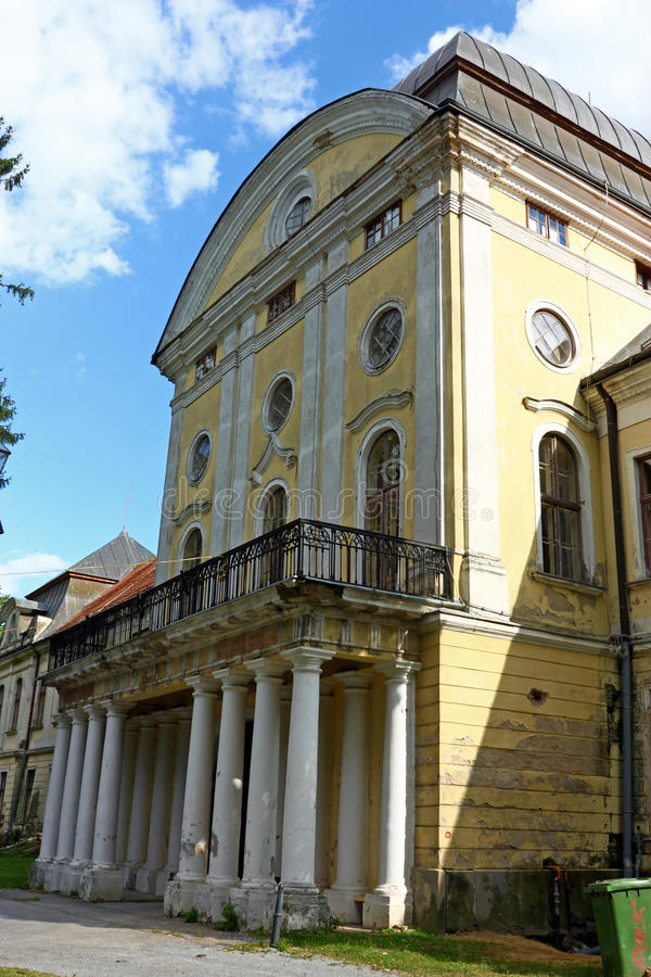 Pejacevic castle in Virovitica. Home to Virovitica Municipal Museum, Croatia royalty free stock photo
