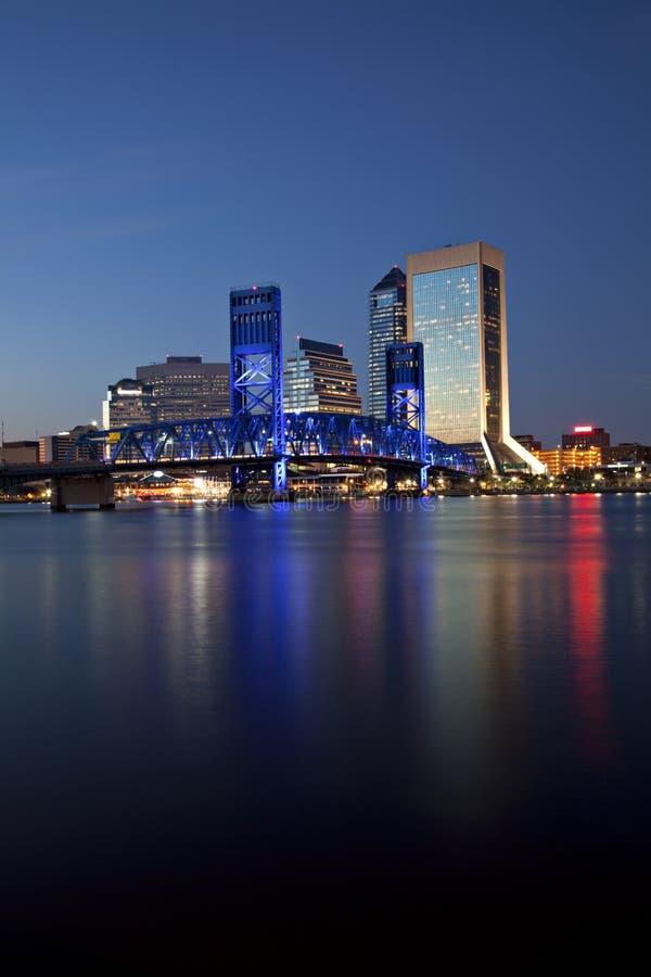 pejzaż miejski Florida Jacksonville zdjęcia stock