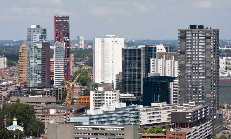 pejzaż miejski holandie Rotterdam obrazy royalty free