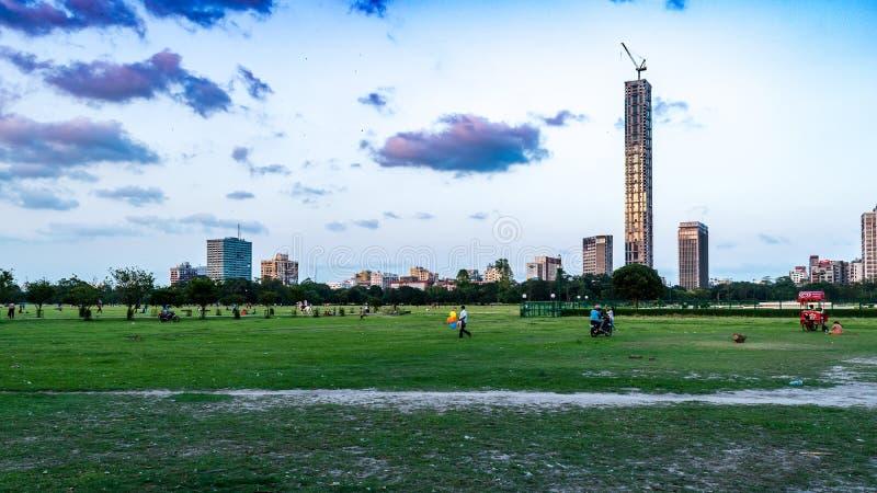 Pejzaż miejski Kolkata zdjęcia royalty free