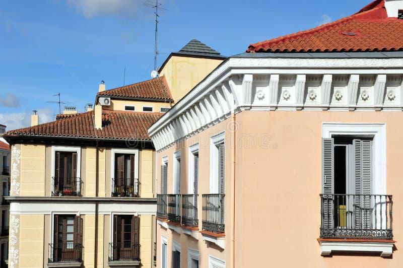 pejzaż miejski Madrid zdjęcia royalty free