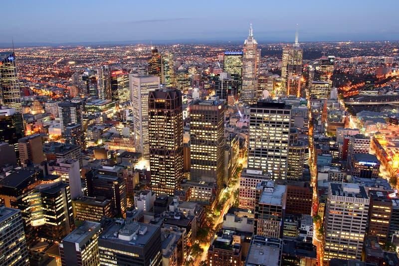 pejzaż miejski Melbourne fotografia stock