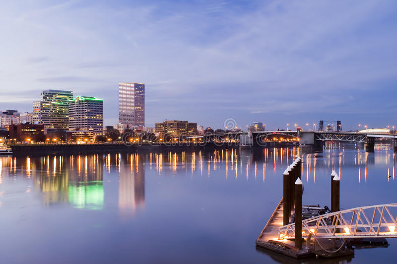 pejzaż miejski Oregon Portland zdjęcie stock