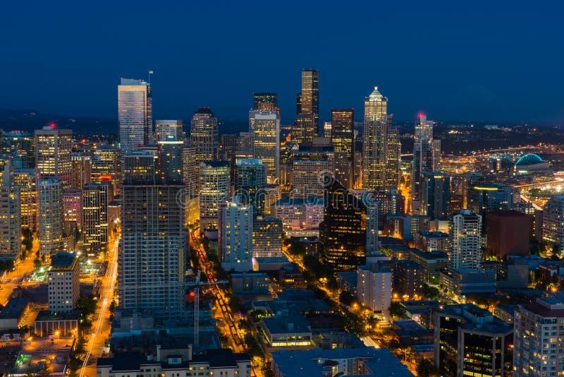pejzaż miejski Seattle obrazy stock