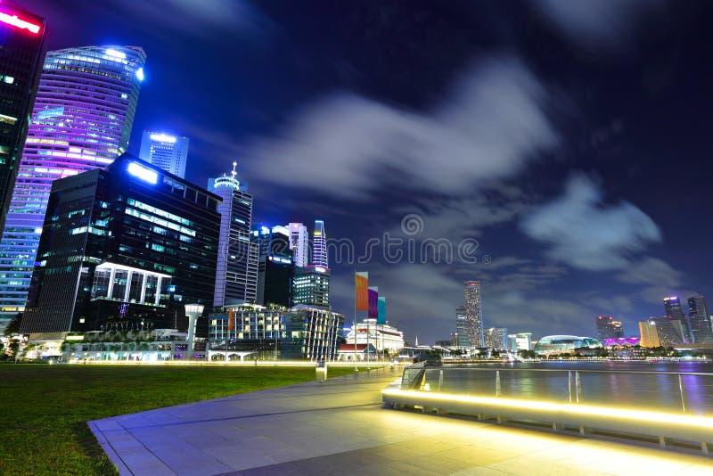 pejzaż miejski Singapore zdjęcie stock