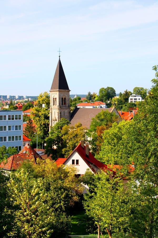 pejzaż miejski Stuttgart zdjęcie stock