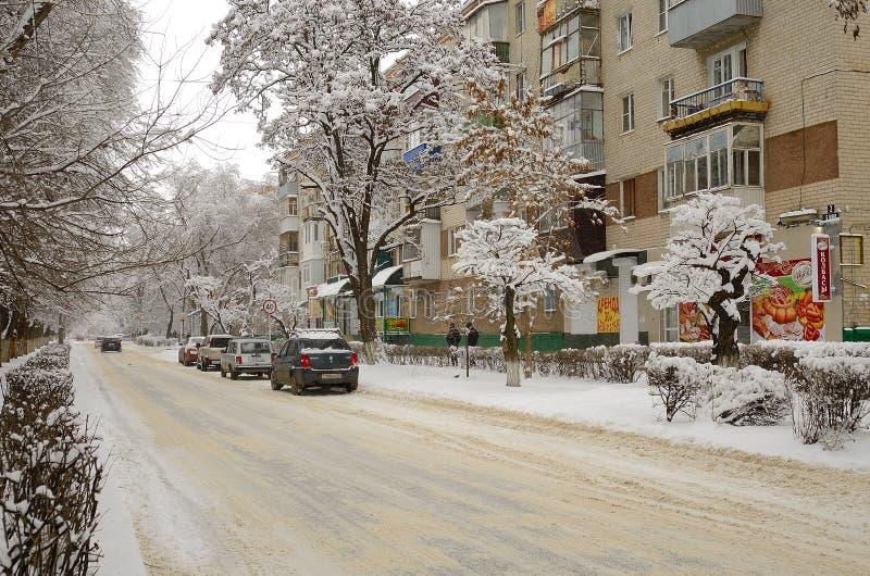 2010 pejzaż miejski Styczeń Moscow Russia zima miasta London zima fotografia royalty free