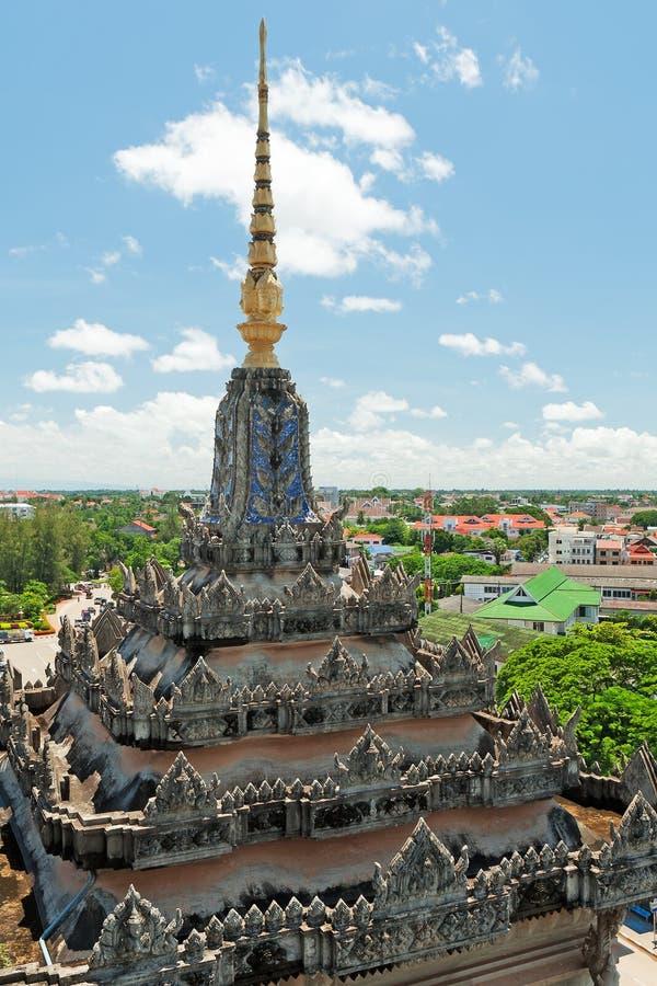 pejzaż miejski Vientiane zdjęcie royalty free