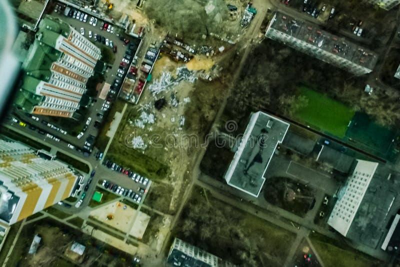 Pejzażu miejskiego widok Od Above zdjęcie royalty free