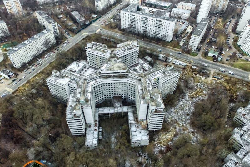 Pejzażu miejskiego widok Od Above zdjęcie stock