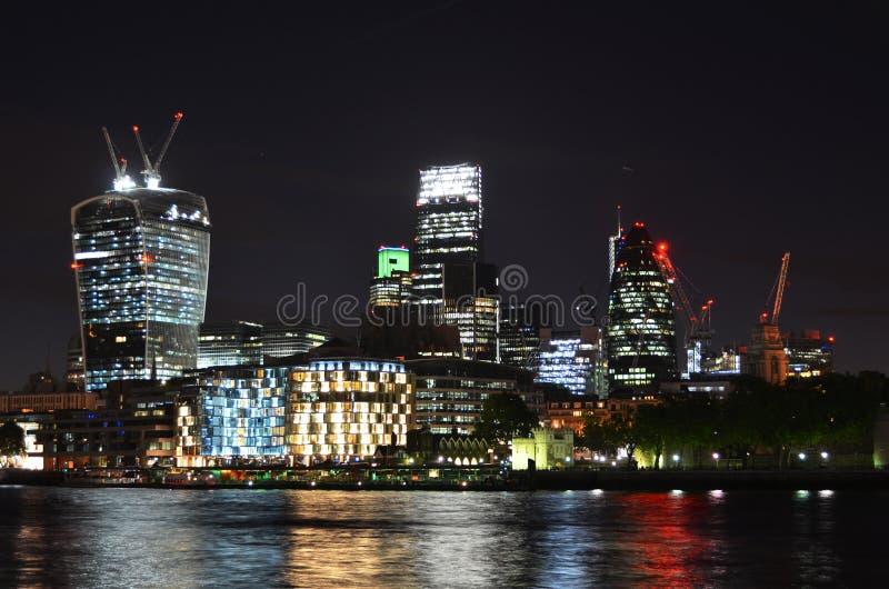 pejza? miejski London noc zdjęcie royalty free