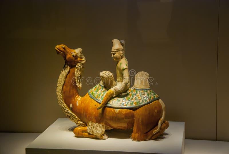 Pekín, capital de China, Museo Nacional imagenes de archivo