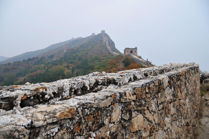 Pekín, China, Gran Muralla de Simatai imagenes de archivo