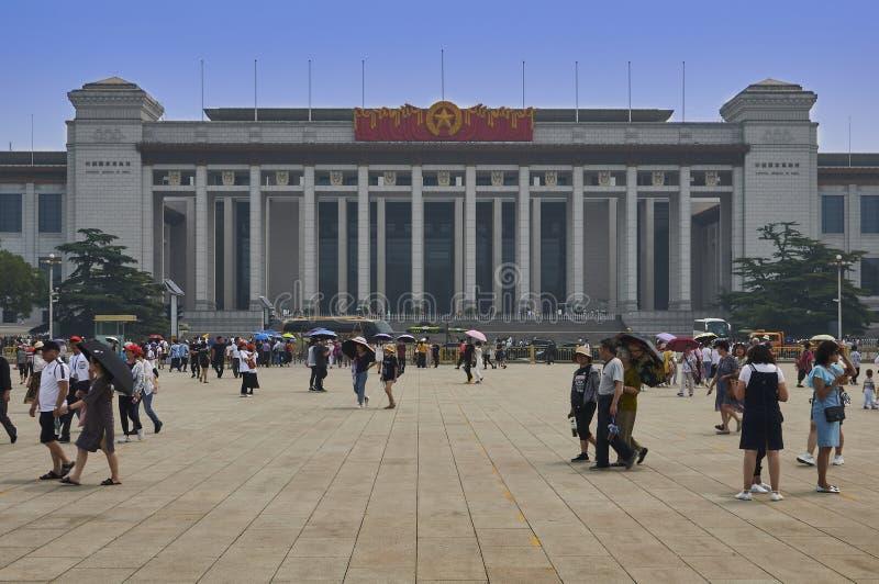 Pekín, China - junio de 2019: Museo Nacional de China imagenes de archivo