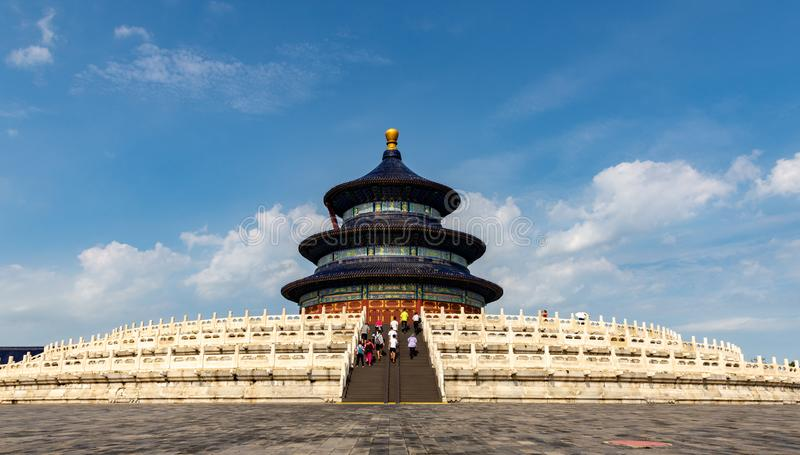 Pekín el Templo del Cielo Pasillo del rezo fotos de archivo libres de regalías