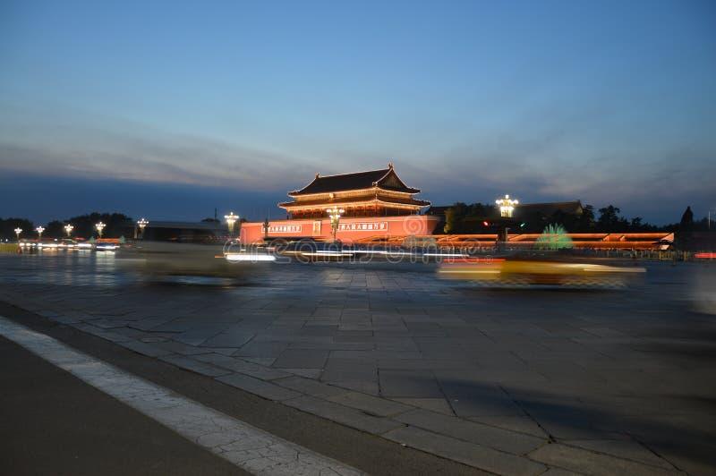 Pekín la ciudad Prohibida en la noche imágenes de archivo libres de regalías