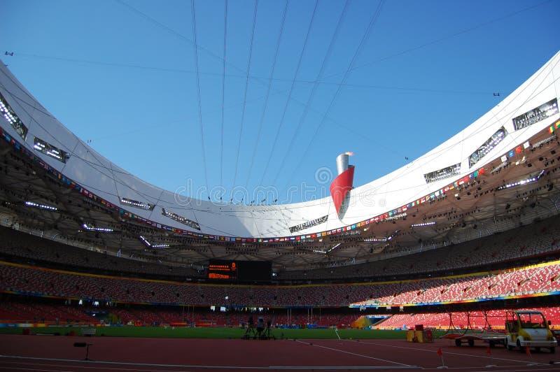 Pekín olímpica foto de archivo