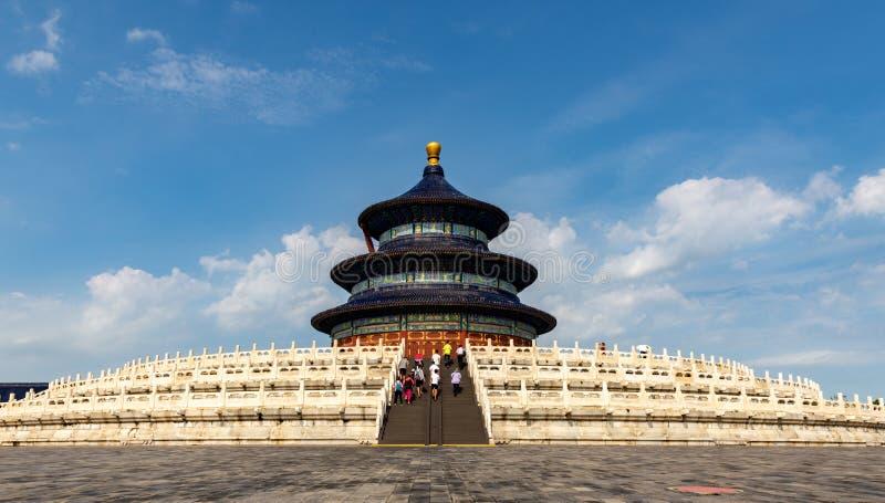 Pekin świątynia Niebiański Hall modlitwa zdjęcia royalty free