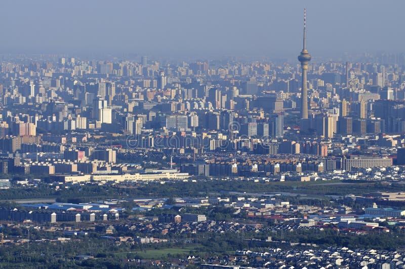 Pekin centrali TV Wierza zdjęcie royalty free