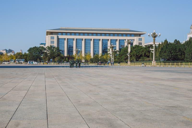 Pekin, Chine, vue de rue photographie stock libre de droits