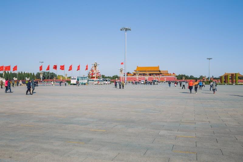 Pekin, Chine, vue de rue photo libre de droits