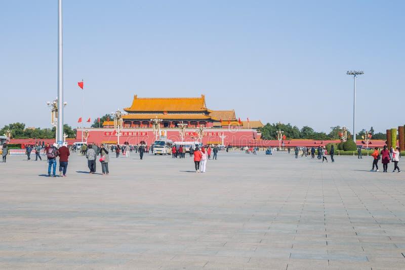 Pekin, Chine, vue de rue images libres de droits