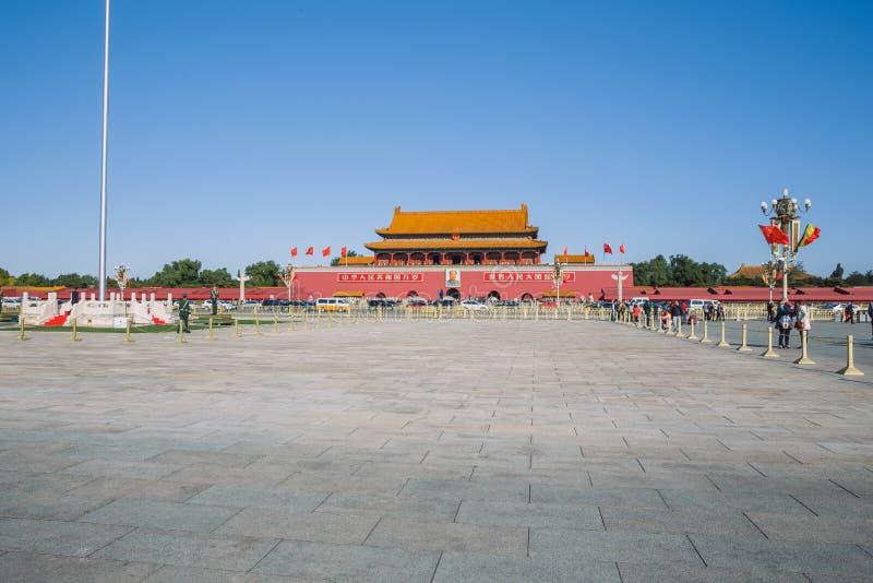 Pekin, Chine, vue de rue photo stock