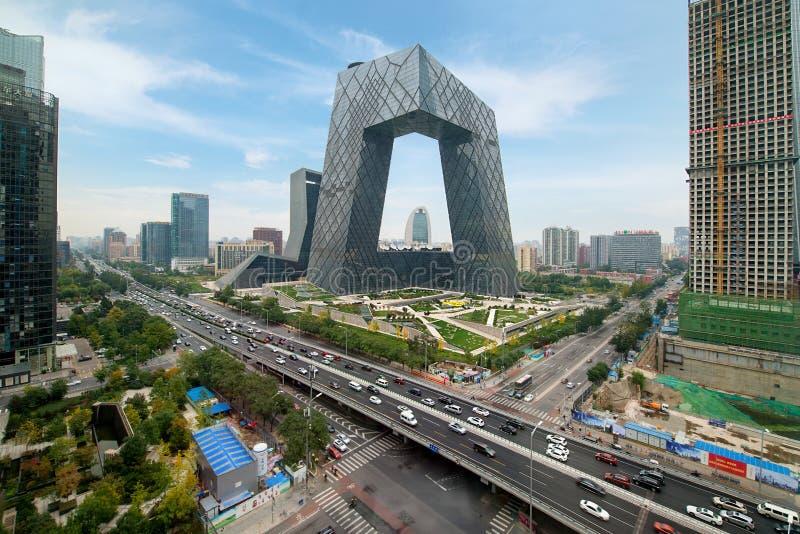 Pekin Chiny, Październik, - 22, 2017: Porcelanowy ` s Pekin miasto, famo obraz royalty free