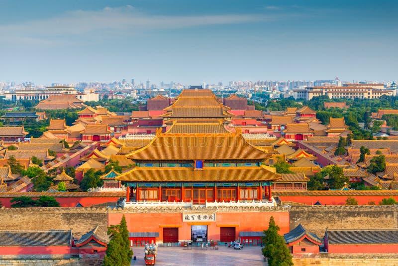 Pekin, Chiny Zakazujący miasto zdjęcie royalty free