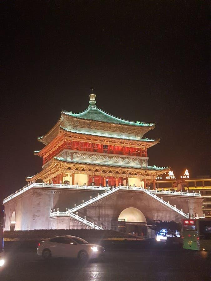 Pekin Dzwonkowy wierza fotografia stock